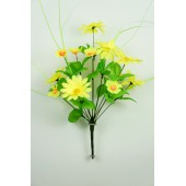 Букет полевых цветов с осокой БС016-1ж