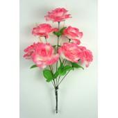 Букет роз с золотистой осокой БС035бел-мал