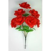 Букет роз с золотистой осокой БС035к
