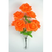 Букет роз с золотистой осокой БС035о