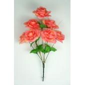 Букет роз с золотистой осокой БС035роз