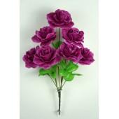 Букет роз с золотистой осокой БС035сирень