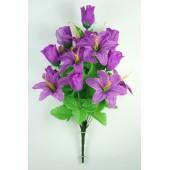 Букет бутонов роз и лилий БС049ф