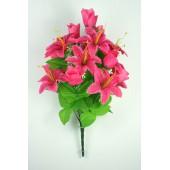 Букет бутонов роз и лилий БС049м