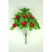 Букет космеи с листом-розеткой БС098-1м
