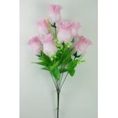 Букет бутонов роз БС122-1бел-роз