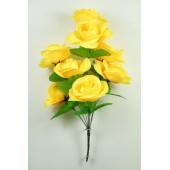 Букет атласных роз БС131ж