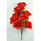 Букет атласных роз БС131к
