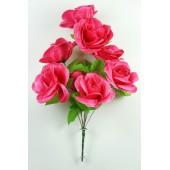 Букет атласных роз БС131м