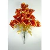 Букет роз из парчи БС134бро