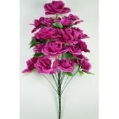 Букет роз с лавандой, БС164сиреневый