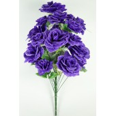 Букет роз с лавандой, БС164чернильный