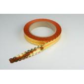 Лента ажурная 2 см * 25 у ЛЖР-2 оранж