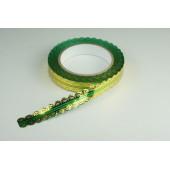 Лента ажурная 2 см * 25 у ЛЖР-2 зеленая