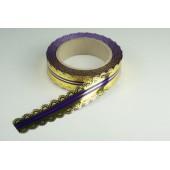 Лента ажурная 3 см * 25 у ЛЖР-3 фиолет