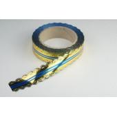 Лента ажурная 3 см * 25 у ЛЖР-3 синий