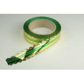 Лента ажурная 3 см * 25 у ЛЖР-3 зеленая
