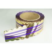 Лента ажурная 5 см * 25 у ЛЖР-5 фиолет