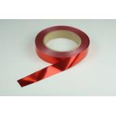 Лента металлизированная 2 см * 50 у ЛМ-2 красный