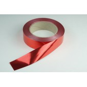 Лента металлизированная 3 см * 50 у ЛМ-3 красная