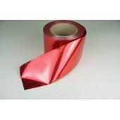 Лента металлизированная 8 см * 50 у ЛМ-8 красная