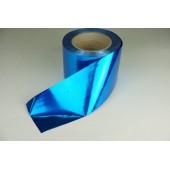 Лента металлизированная 8 см * 50 у ЛМ-8 синяя