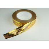 Лента с золотой полоской 3 см * 50 у ЛЗП-3 ВП бронза