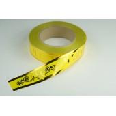 Лента с золотой полоской 3 см * 50 у ЛЗП-3 ВП желтая