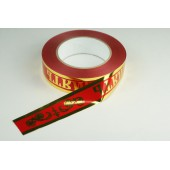 Лента с золотой полоской 3 см * 50 у ЛЗП-3 ВП красный