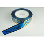 Лента с золотой полоской 3 см * 50 у ЛЗП-3 ВП синий