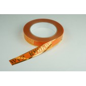 Лента с золотой полоской 2 см * 50 у ЛЗП-2 ВП оранж