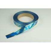 Лента с золотой полоской 2 см * 50 у ЛЗП-2 ВП синий