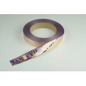 Лента с золотой полоской 2 см * 50 у ЛЗП-2 ВП сиреневая