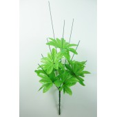 Подбукетник 9 веток с листом розеткой ПЛ007-1