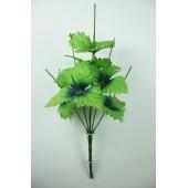 Подбукетник 7 веток с листьями хризантемы ПЛ012-1