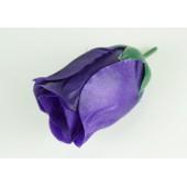 Роза атласная бутон ГК042чернильный