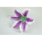 Комплект лилии с принтом ГК003б-сирень